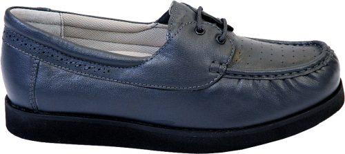 Emsmorn Harmony Moccasin Lace Grey Bowls Shoe