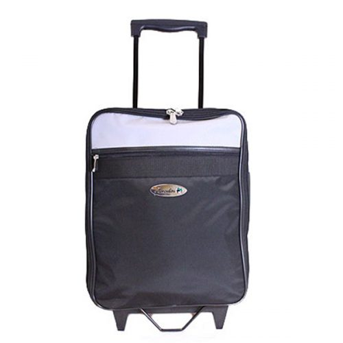 Henselite Trolley Bag — Black/Grey
