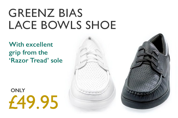 Greenz Bias Lace Bowls Shoe. Only £49.95. Click to find out more.
