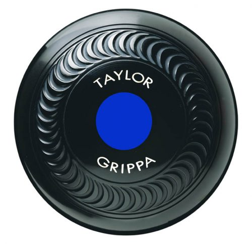 Taylor Crown Bowls Grippa Front blue